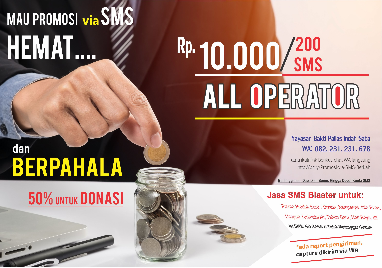 Promosi SMS Blaster